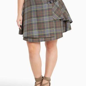 Outlander Fraser Tartan Plaid Skirt